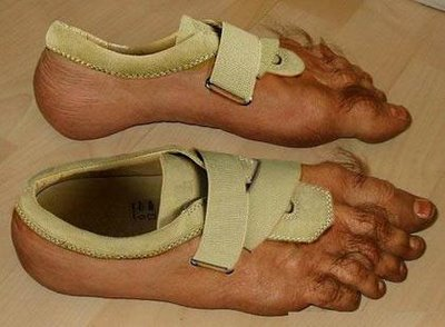 Nike's Human Hairy Feet Shoes! Gross!