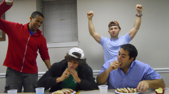 The University of Maryland Competitive Eating Team, Y'all!