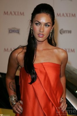 Celebrity photo.  You can vote for this Megan Fox pic.